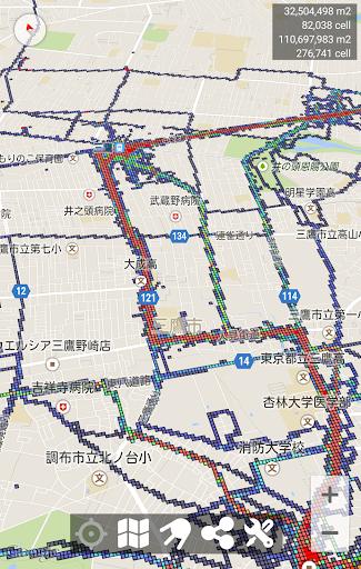 把您数十年的旅行轨迹绘成一张地图来欣赏吧!