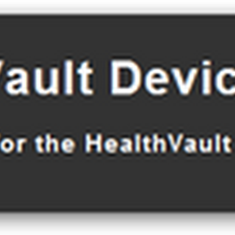 Microsoft HealthVault Device Logo Requirements 1.20 Available for Device Vendors