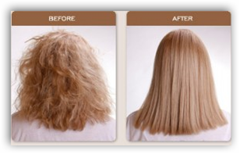 Brazilian Blowout On Natural Curly Hair