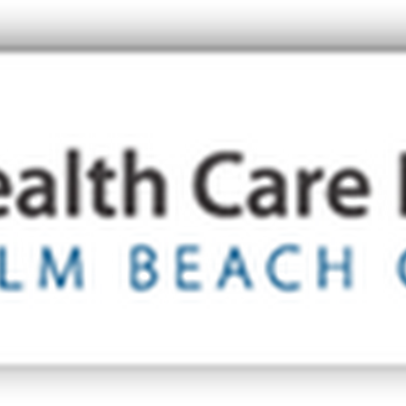 Longtime CEO of Healthcare District of Palm Beach County Resigning to Take A Position at Blue Cross Blue Shield of Florida-A New Set of Managed Care Algorithms to Work With