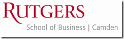 Rutgers-Camden School of Business Logo