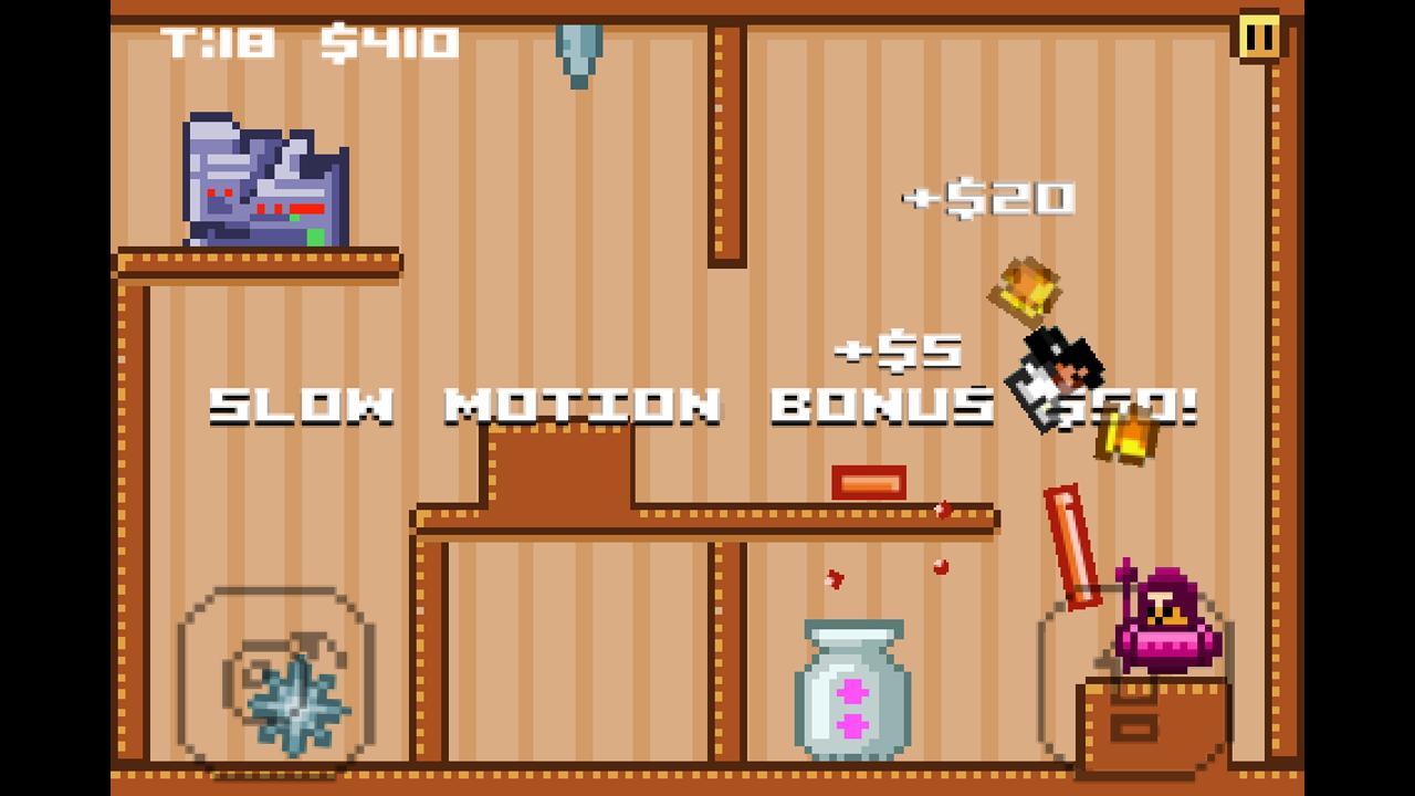 Karate Girl Destruction Run- screenshot