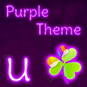 GO Launcher EX Purple Theme icon