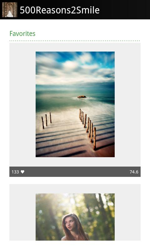 Brilliance: 500px Image Viewer - screenshot