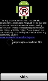 San Francisco Street Cleaning- screenshot thumbnail