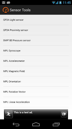 Sensor Tools