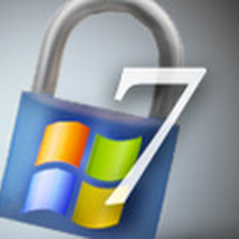 Security in Windows 7: Automatic Updates, Action Center and Virus Protection.