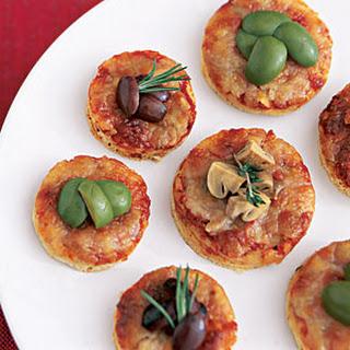 Greek Pita Pizzas