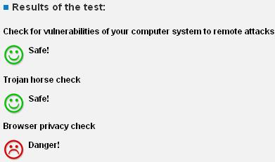 безопасность компьютера тест