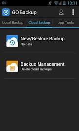 GO Backup & Restore Pro Screenshot 4