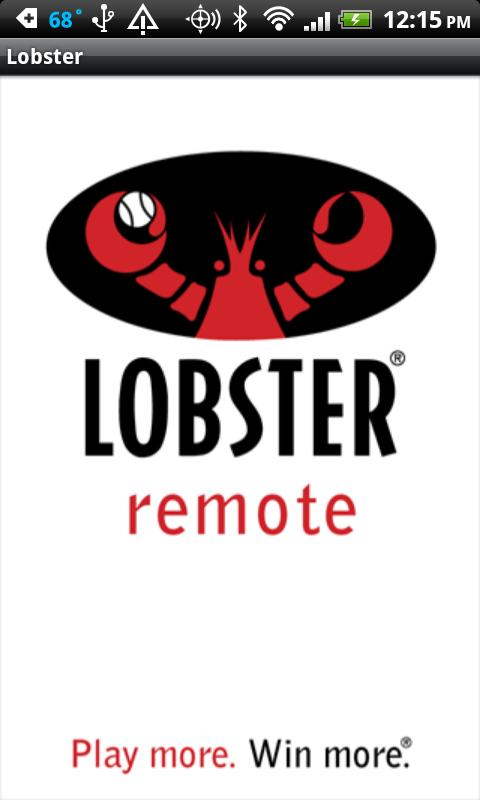 Lobster Remote Control - screenshot