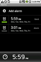 Screenshot of Klaxon - Alarm Clock (Demo)