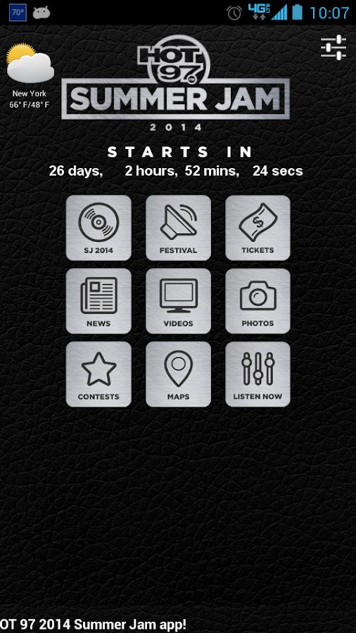 HOT 97 SUMMER JAM 2014- screenshot