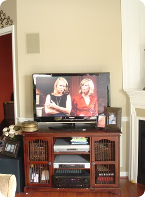 Easy fixes TV stand redo