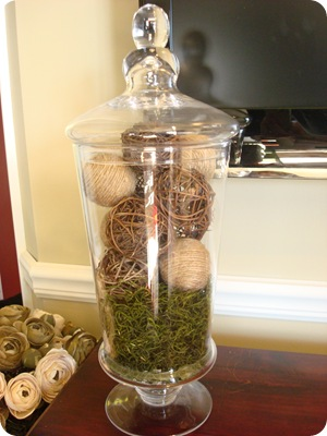 Easy DIY jute decorative balls