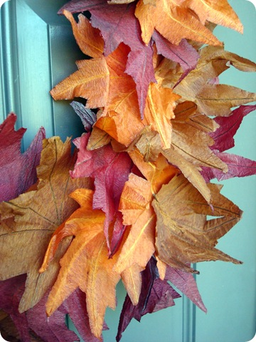 dollar store fall wreath how-to