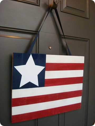 DIY flag craft