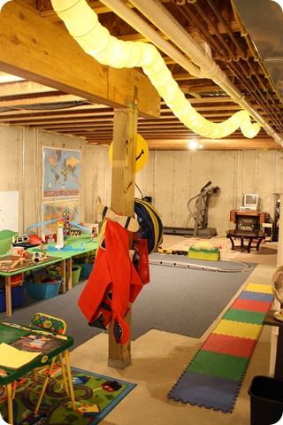 basement play area