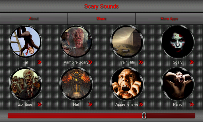 Scary Sounds - screenshot