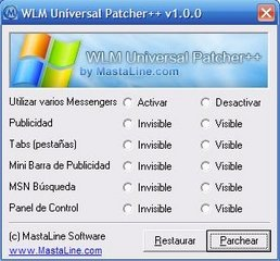 Windows Live Messenger Patcher