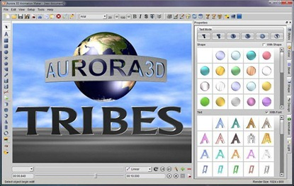 Aurora 3D Animation Software