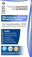 Screenshot of IBM Events
