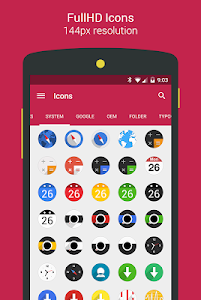 Easy Circle - icon pack screenshot 9