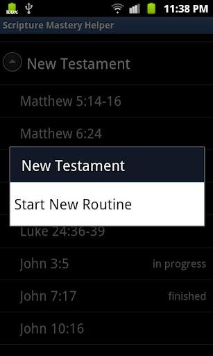 Scripture Mastery Helper