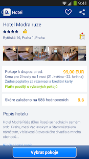 Booking.com - 430 000+ hotelů - screenshot thumbnail