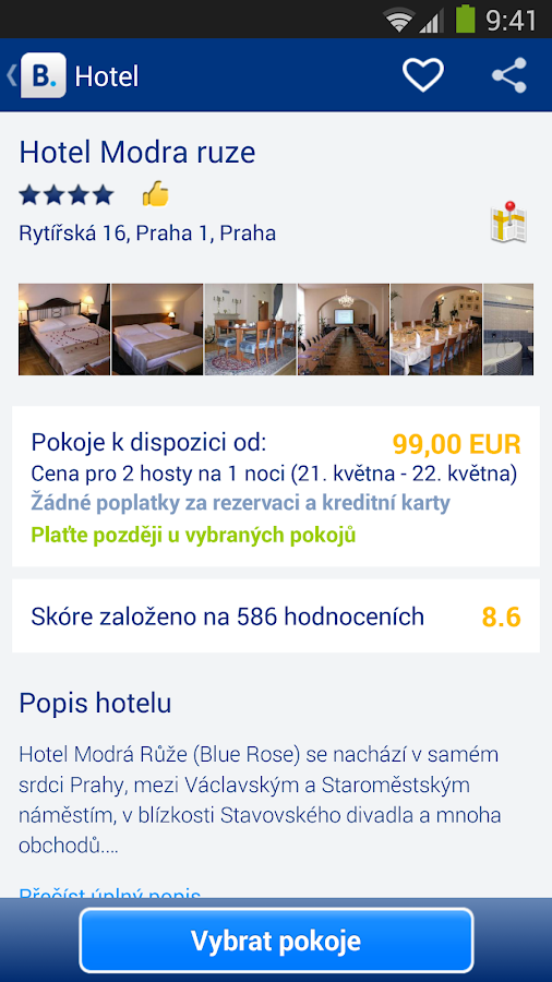 Booking.com - 430 000+ hotelů - screenshot