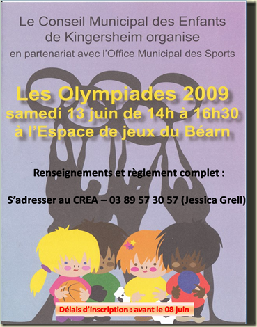 Olympiades   texte