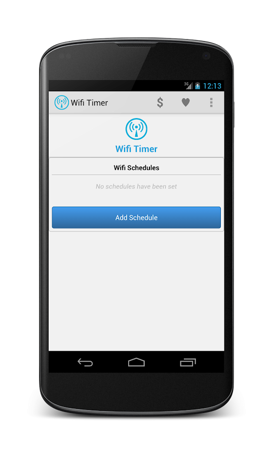 Wifi Timer - screenshot