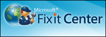 Microsoft Fix It Center Online Logo
