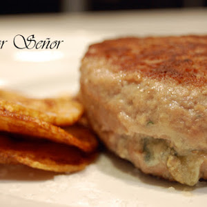 Blue-cheese Stuffed Hamburgers