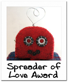 Tamdoll's Spreader of Love Award