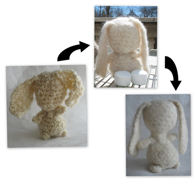 How I made the bunny