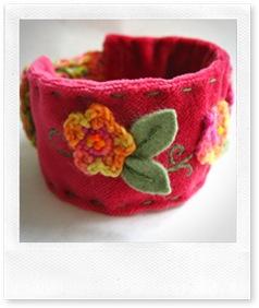 Raspberry Cuff