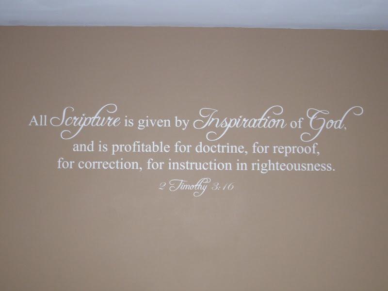 NEW custom Bible verse Vinyl Wall Art scripture NICE | eBay