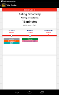 Tube Tracker - Live Departures - screenshot thumbnail