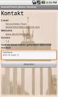 Screenshot of DeutschTests Offline