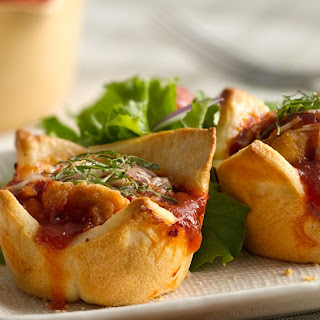 Parmesan Chicken Mini Pies.