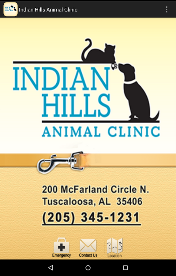 Indian Hills Animal Clinic- screenshot