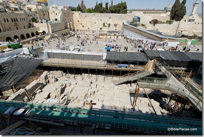 Western Wall plaza excavations, tb051908176