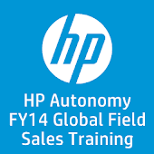 HP FY14 Field Sales Training