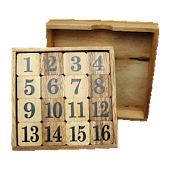 15 Puzzle Logic Game Free