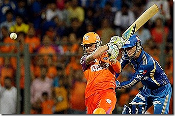 Kochi Tuskers Kerala's Brendon McCullum in action