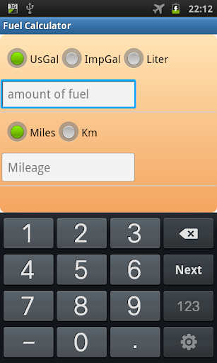 Fuel Calculator