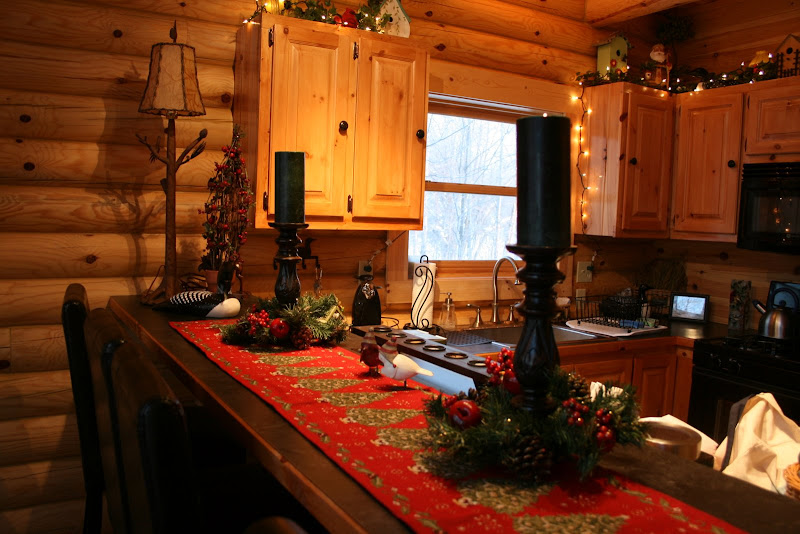 Building A Log Cabin: Log Cabin Christmas - Part 2