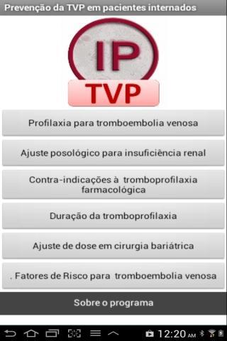 Profilaxia de trombose venosa