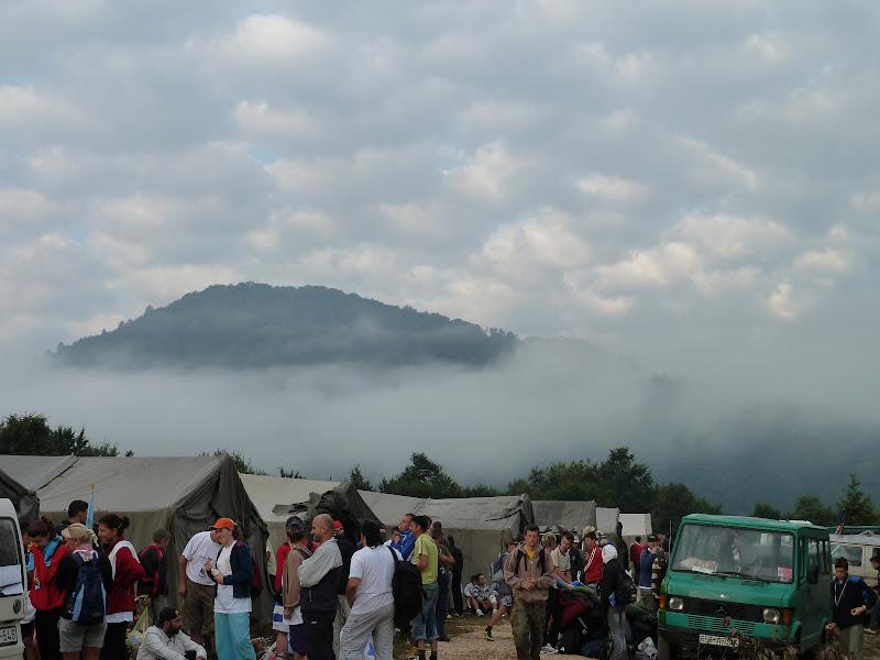 Day 3, the camp near Konjevic Polje